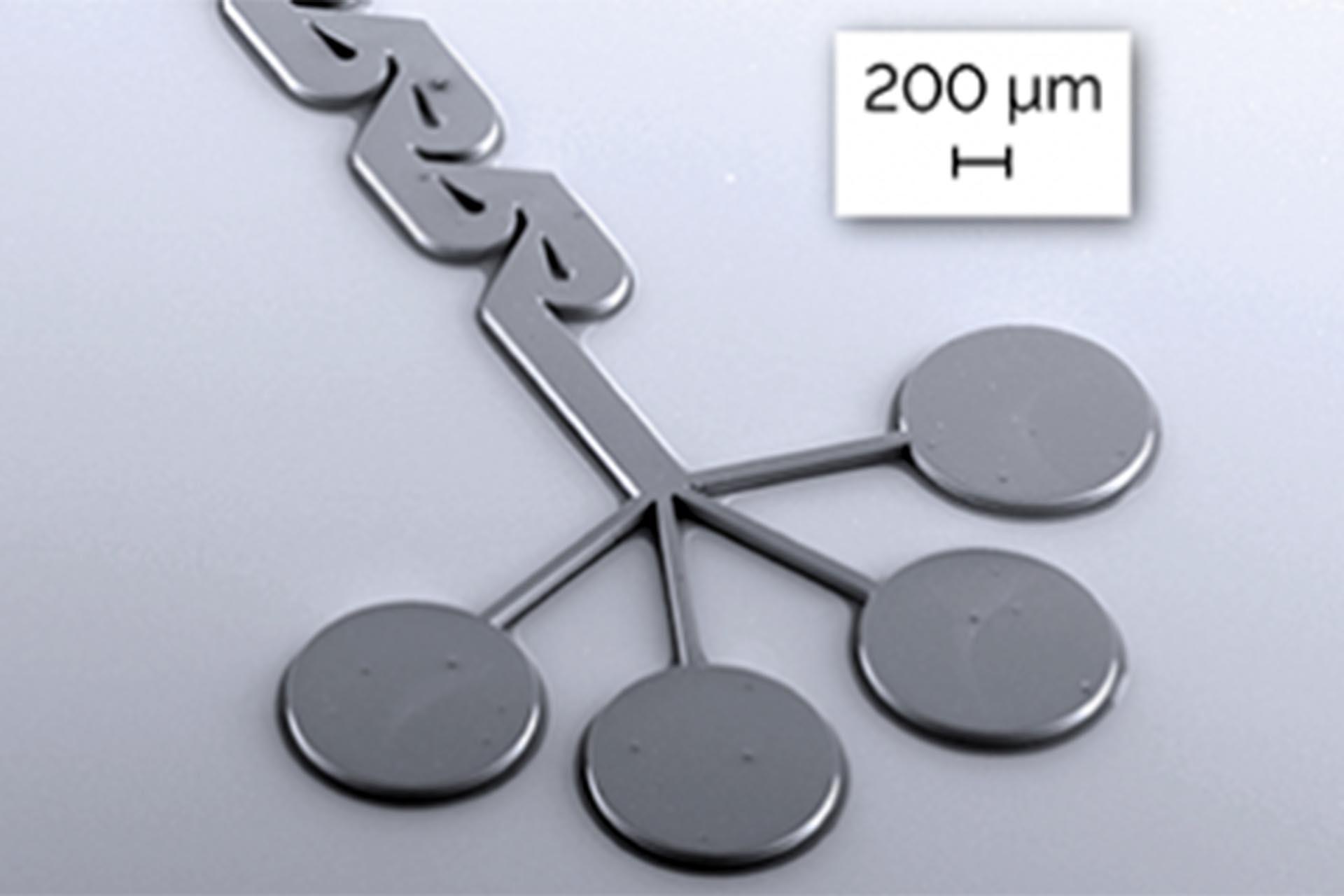 Microfluidic mixer