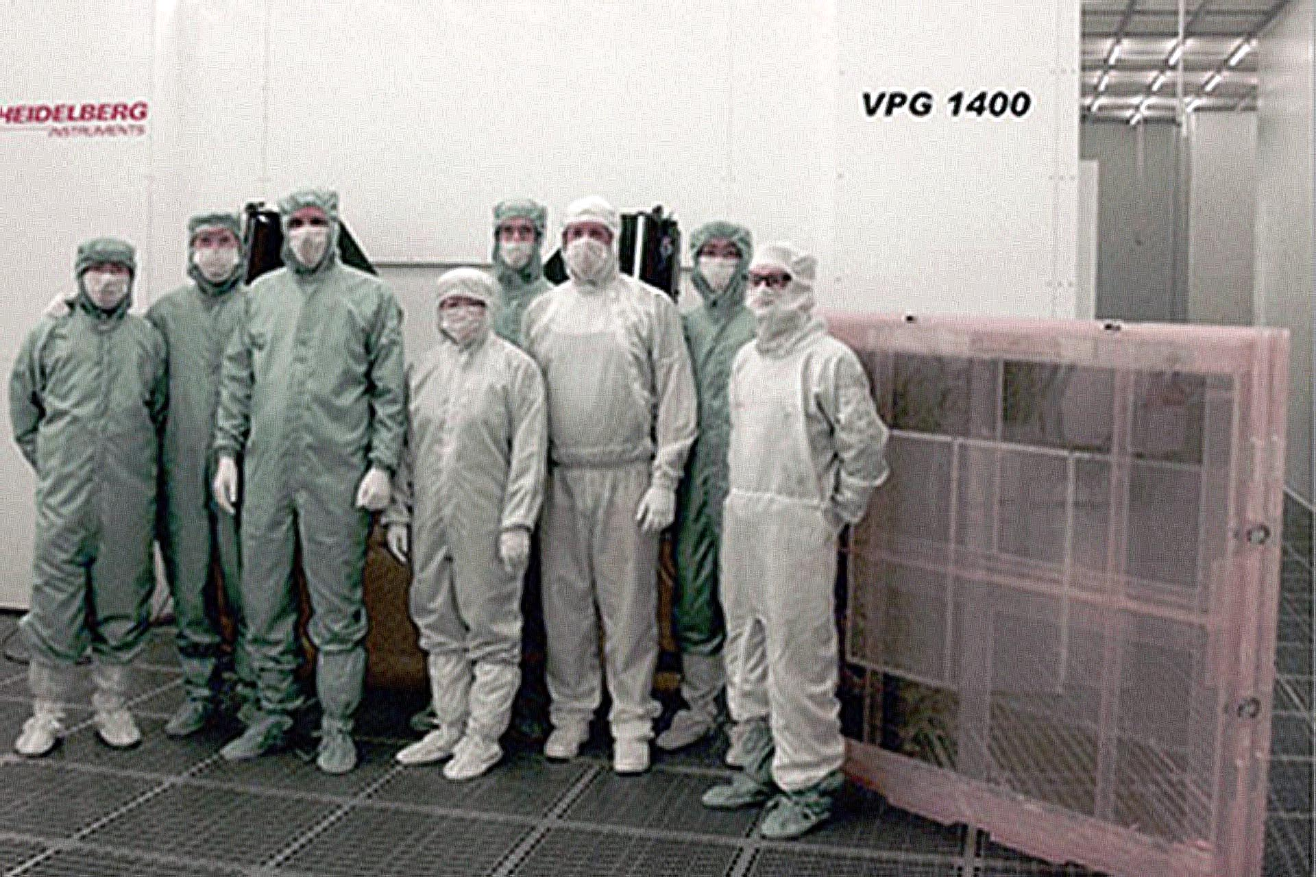 Photomask production