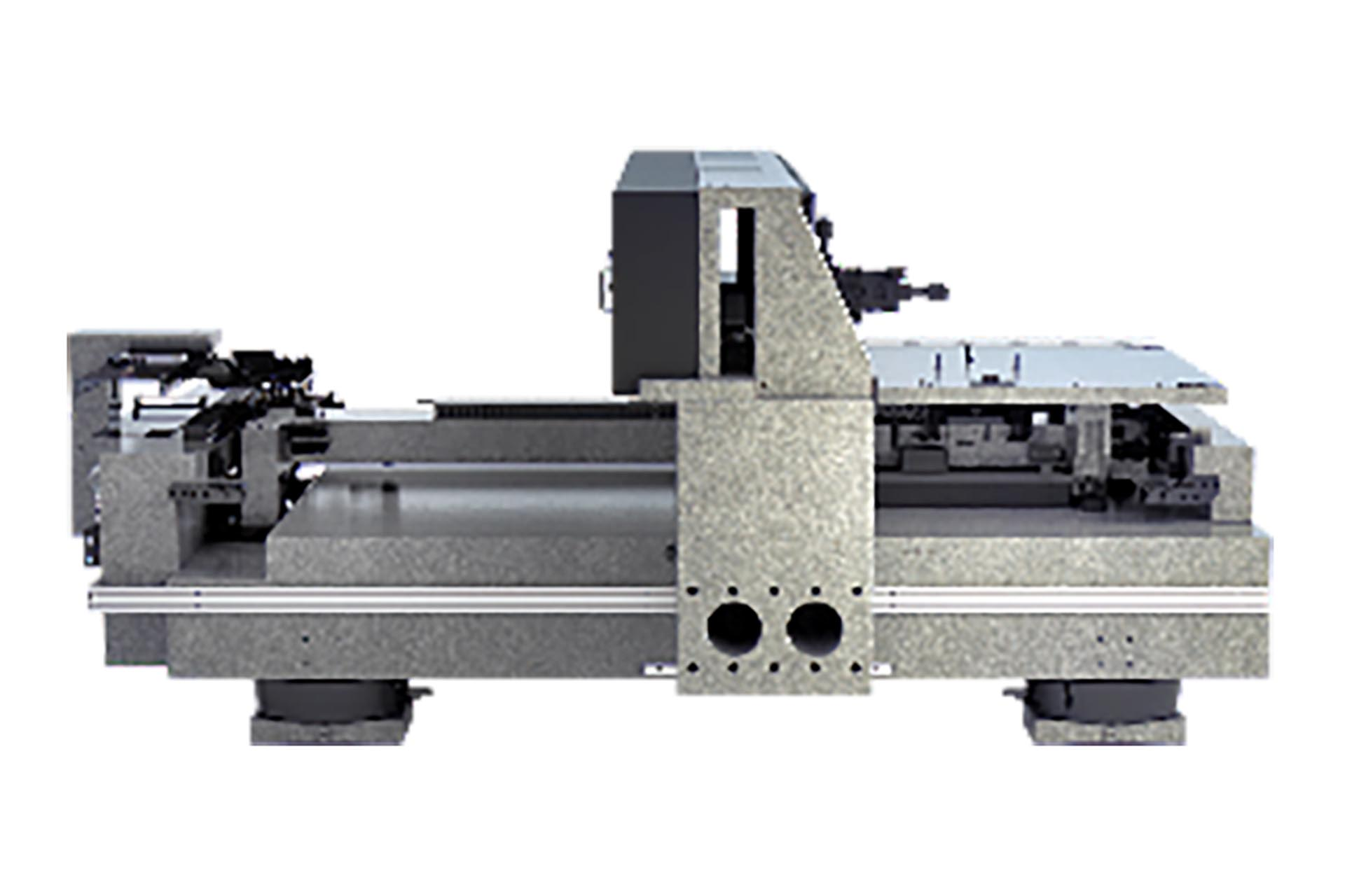 Custom-made stages of almost any size are made in-house at Heidelberg Instruments.